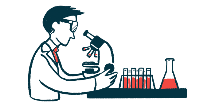 CTH120 granted orphan designation in EU/Fragile X News Today/scientist using microscope in lab illustration